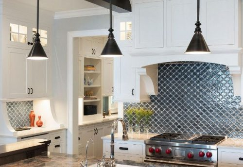 In a world of white subway tile be BOLD & choose unexpected.